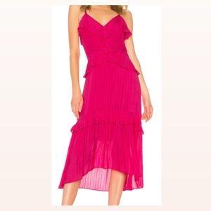 Revolve Pink Midi Dress
